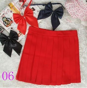 Preppy Style High Waist Pleated Skirt-Dress-SheSimplyShops