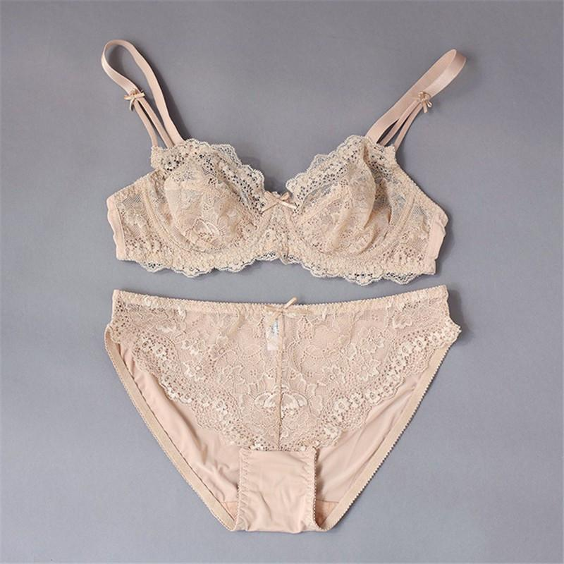 Varsbaby New Top Quality Sexy Underwear Women Bra Set Lace Bra Sexy Lace Brand Push Up Lingerie Set-UNDERWEAR-SheSimplyShops