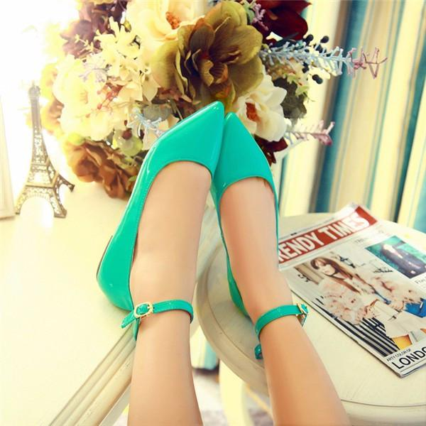 Stylish Pointed Toe Flats Ankle Shoes-SHOES-SheSimplyShops