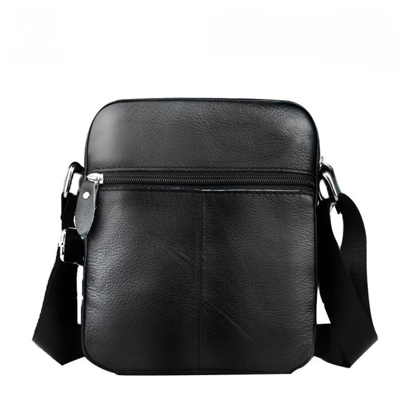 Genuine Leather Men's Messenger Bags Brand Men Shoulder Bags Brand Men's Cross body Bags Casual Small Briefcase Handbags DB5934-BELTS-SheSimplyShops