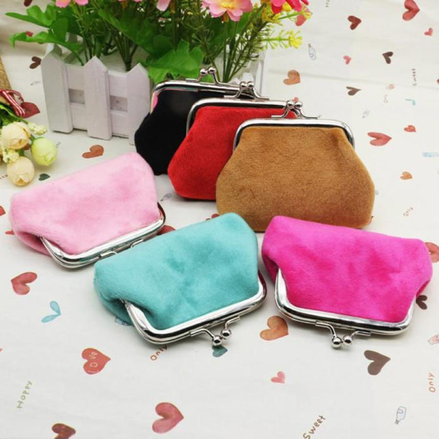 Naivety New Fashion Lady Corduroy Mini Wallet Holder Woman Coin Purse Clutch Bag-BAGS-SheSimplyShops