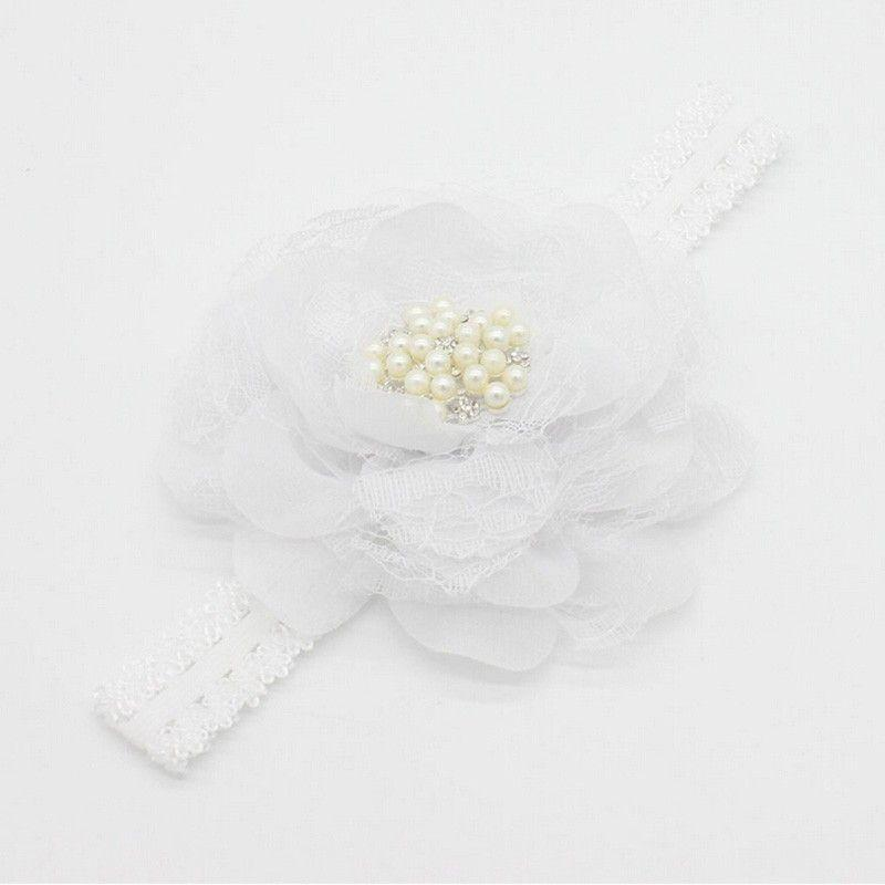 Baby Girl Lace Pearl Big Flower Baby Headband Wide Band Hairband Flowers Head Wrap Elastic Hair Band Accessories Bandeau bebe-ACCESSORIES-SheSimplyShops