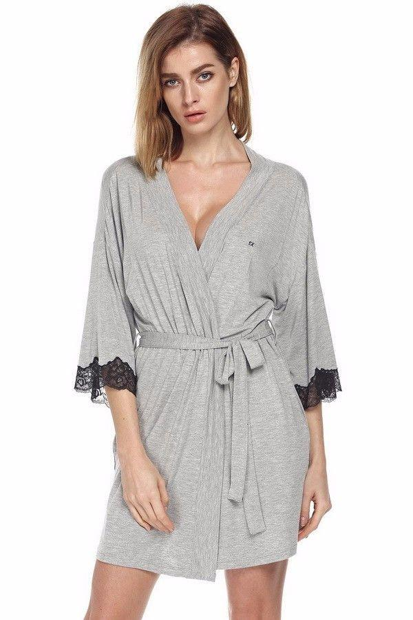 Bath robe Wedding Bride Bridesmaid Robe Party Women Night Sexy Robes Womens Gowns Longue-Dress-SheSimplyShops