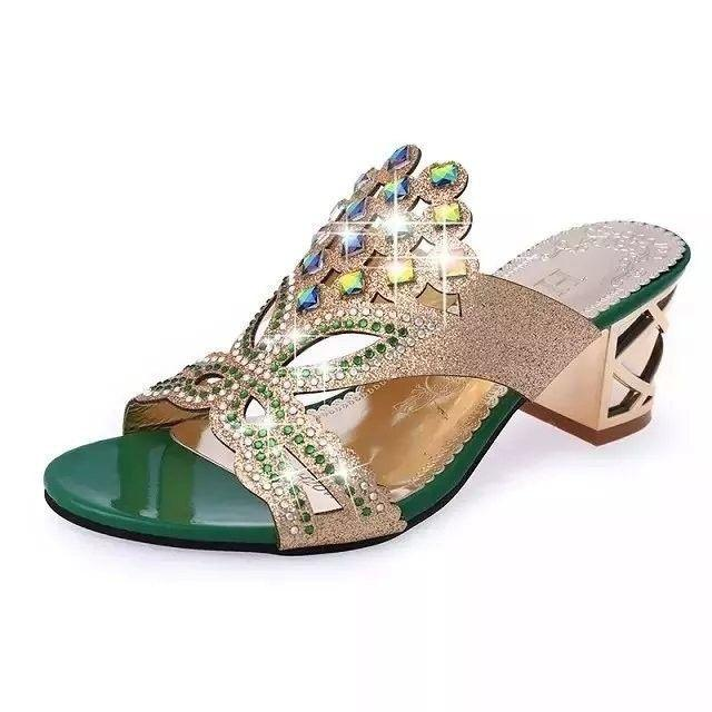 Beautiful Cut-Out Sandals-SLIPS-SheSimplyShops