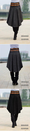 Elegant Irregular style Pleated Skirt-Dress-SheSimplyShops