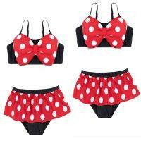 Minnie Mouse Bow knot Baby Girl Swimwear-PANTS-SheSimplyShops