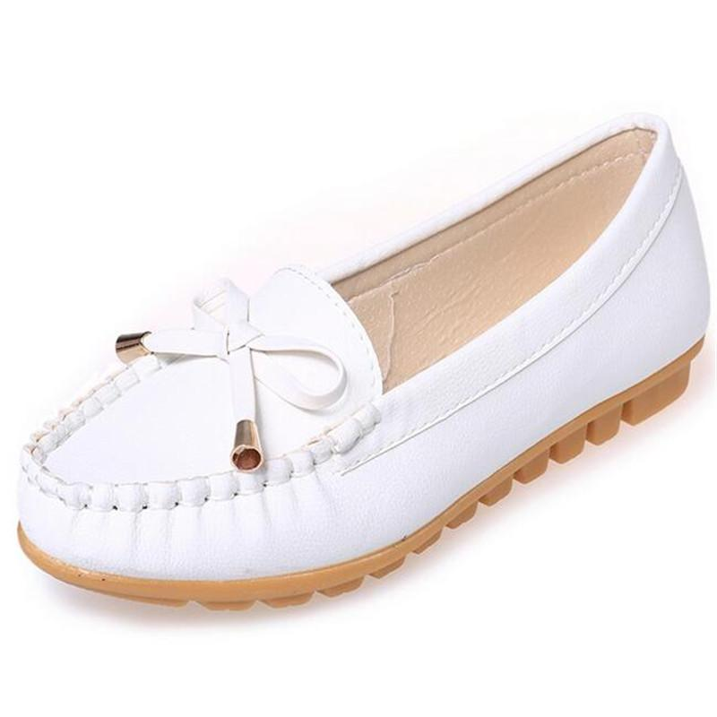 New Fashion Shoes Woman Flats Outdoor Recreation Rubber sole shoes comfortable Single Shoes Women-SLIPS-SheSimplyShops