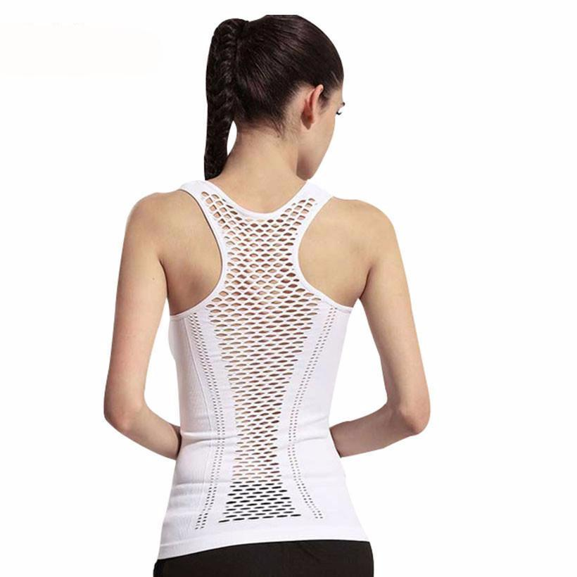Stylish Yoga Tank Hollow Back Tops-SHIRTS-SheSimplyShops