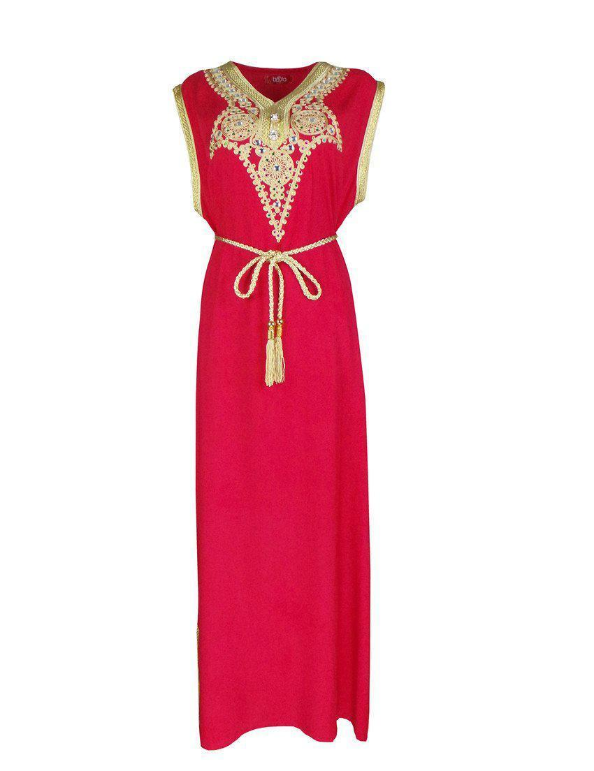 Islamic clothing Maxi Dress-Dress-SheSimplyShops