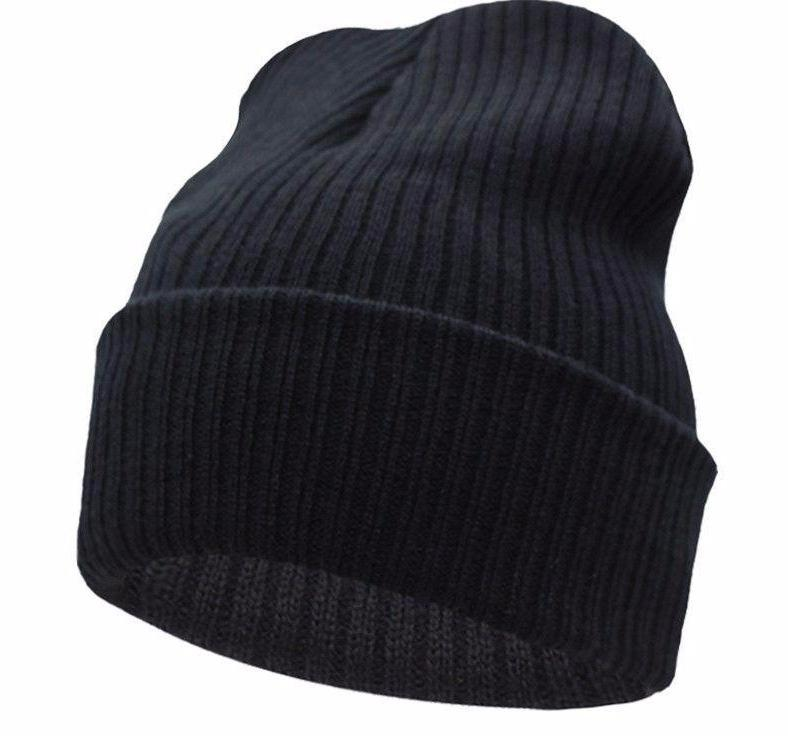 Beanies Winter Hat For Men Knitted Hat Women Winter Hats For Women Men Knit Caps Blank Casual Wool Warm Flat Bonnet Beanie-BEANIES-SheSimplyShops