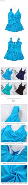 Women Summer Dress One Piece Swimsuits Big Women Extra Large Size Swimwear Big Girl Swimwear Cover Ups Plus Size XXXXL 6XL-Dress-SheSimplyShops