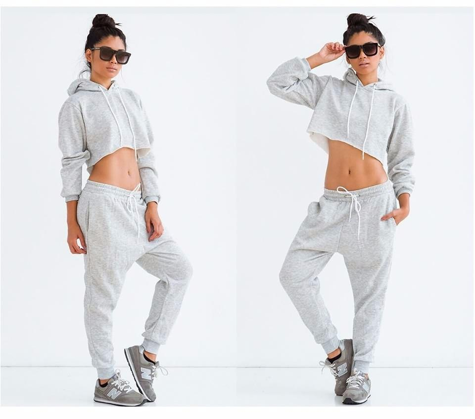 Casual Long Sleeve Hoodies Sweatshirts-PANTS-SheSimplyShops