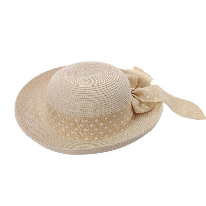 Hot New Fashion Summer Casual Women Ladies Wide Brim Beach Sun Hat Elegant Straw Floppy Bohemia Cap For Women Dating Cheap Z1-HATS-SheSimplyShops