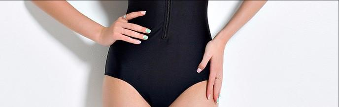 Sexy Zipper Swimsuit-BAGS-SheSimplyShops