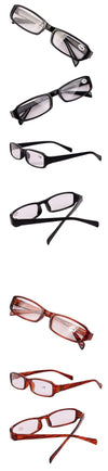 Brown Presbyopic Glasses +1.00 +1.50 +2.00 +2.50 +3.00 +3.50 +4.00 Diopter Points Read Clear Reading Glasses-Coats & Jackets-SheSimplyShops