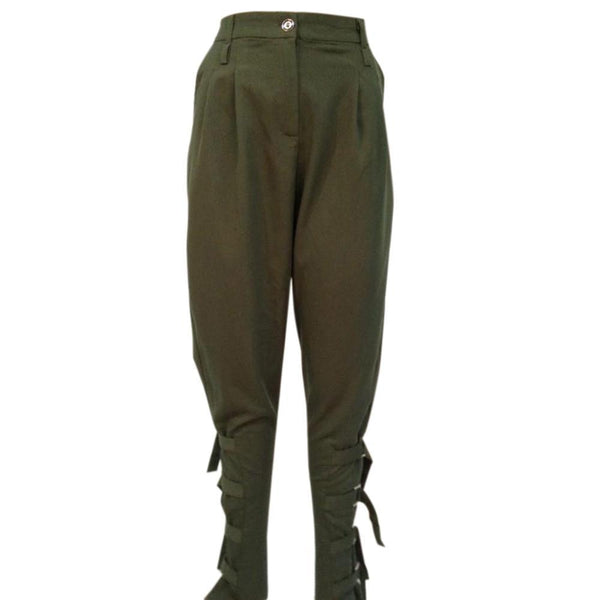 Preself fall Casual Plus size women ArmyGreen pant woman design fashion high quality celeb unique Leisure Trousers harem pants-PANT-SheSimplyShops