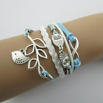 Leather Multilayer Braided Bracelets-BRACELETS-SheSimplyShops