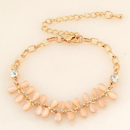 Hot Sale Simple Design Chain Link Bracelets Gold Plated Bracelets&Bangles For Women Fashion Slider Bracelet Jewelry-BRACELETS-SheSimplyShops