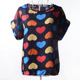 Print O-Neck Tropical Women Blouses Shirts Summer Chemise Plus Size Body Ladies Tops Fashion Clothes-Tops-SheSimplyShops