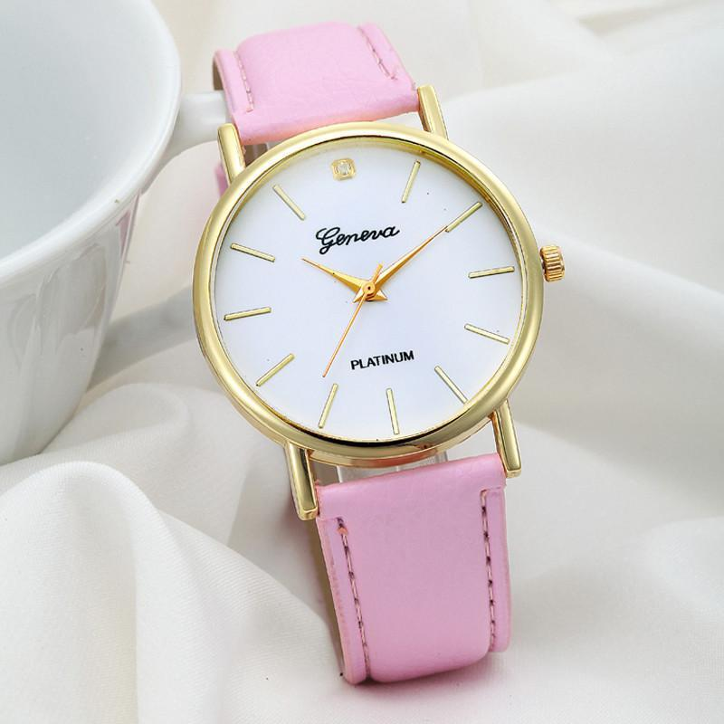 watch, women Fashion Design Attractive Dial Leather Band Analog Geneva Quartz Wrist Students Girls Ladies women's watch-WATCHES-SheSimplyShops