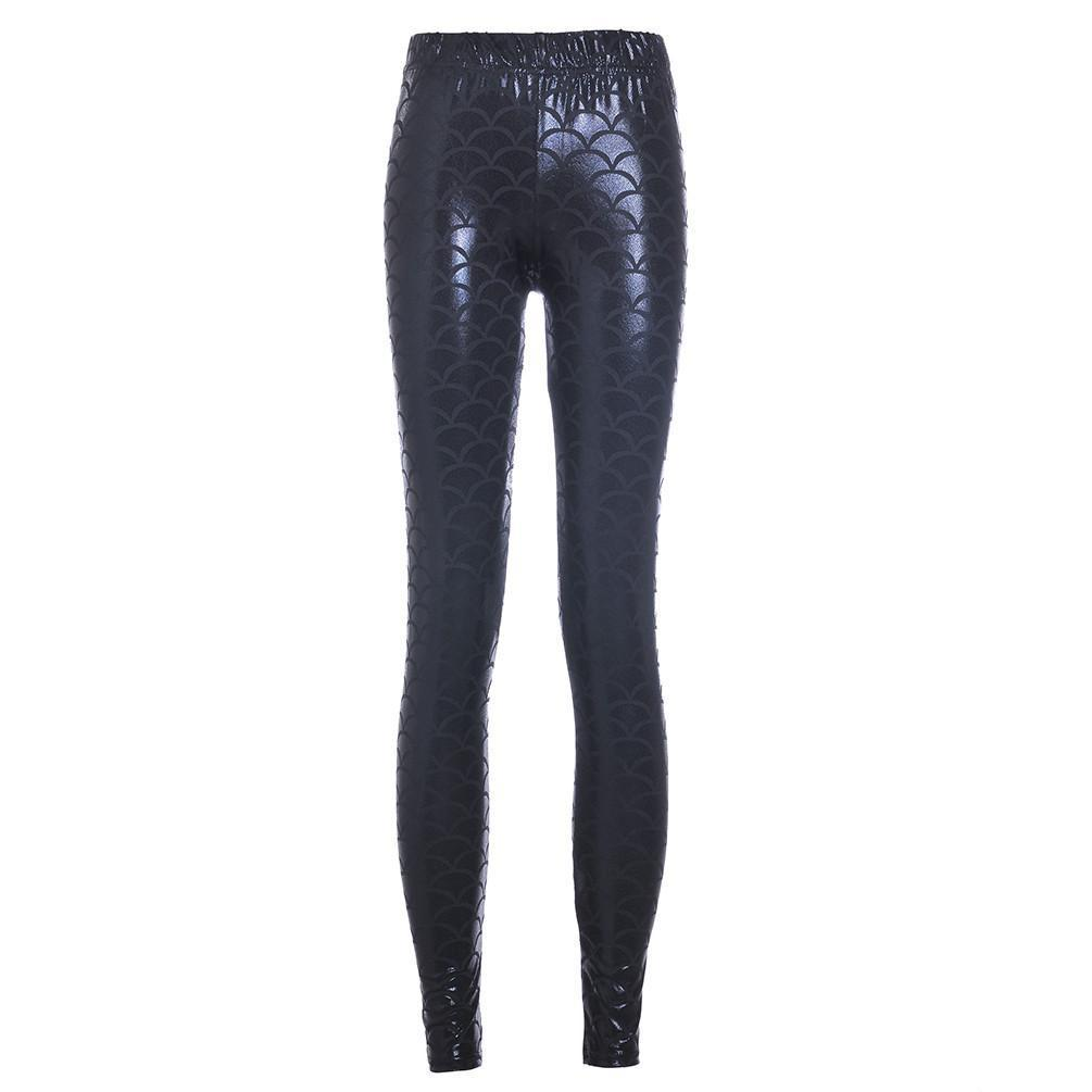 Summer style women's Scale leggings pant-PANTS-SheSimplyShops