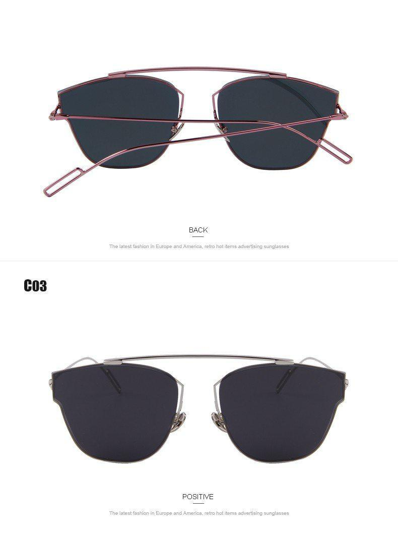 MERRY'S Fashion Women Brand Design Sunglasses Rimless Cat eye Sunglasses Oculos de sol UV400-BAGS-SheSimplyShops