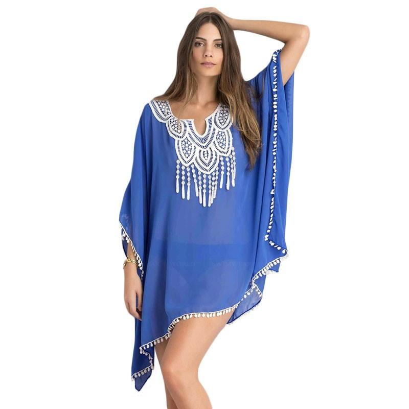 Sexy Sarong Blouses Cover ups-Dress-SheSimplyShops