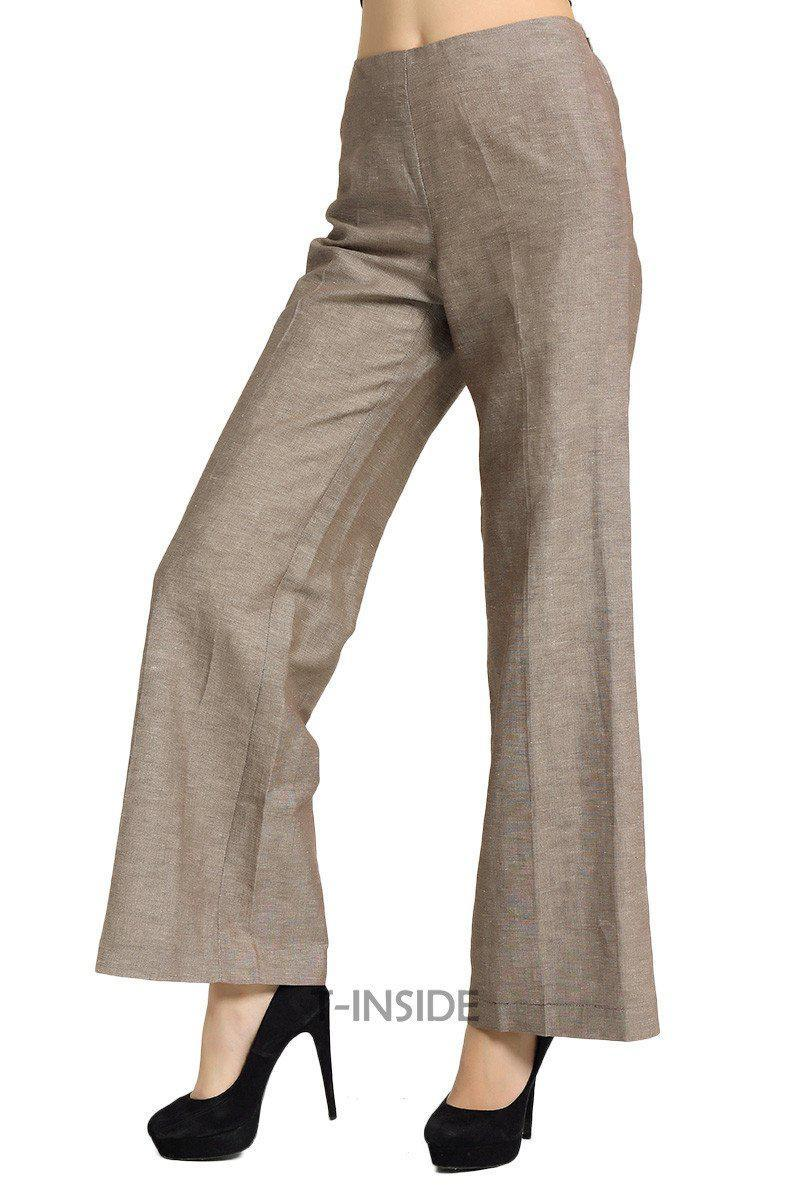 T-Inside New Hot Women's Fashion Elegant Loose Wide Leg Pants Trousers High Quality for Daily and Business-PANTS-SheSimplyShops