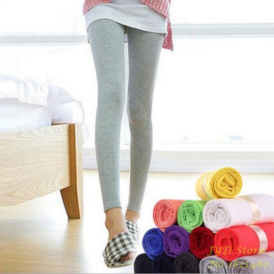 Fashion spring autumn Modal legging women's plus size thin cotton candy color trousers women sexy leggings with high quality-PANTS-SheSimplyShops