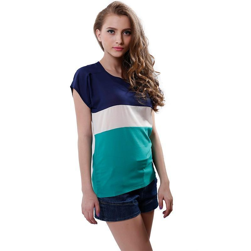 Elegant Stripes Loose Tops-Bottoms-SheSimplyShops