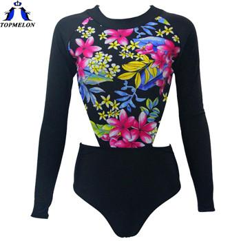 one piece swimsuit long sleeve biquini brasileiro swimwear women sexy one piece swimwear one piece bathing suits for women-Bottoms-SheSimplyShops