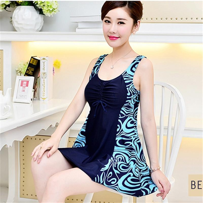 New Sexy Retro Extra Large Swimwear Big Breasts Women Push Up Bathing Suit One Piece Swimsuit-SWIMWEAR-SheSimplyShops