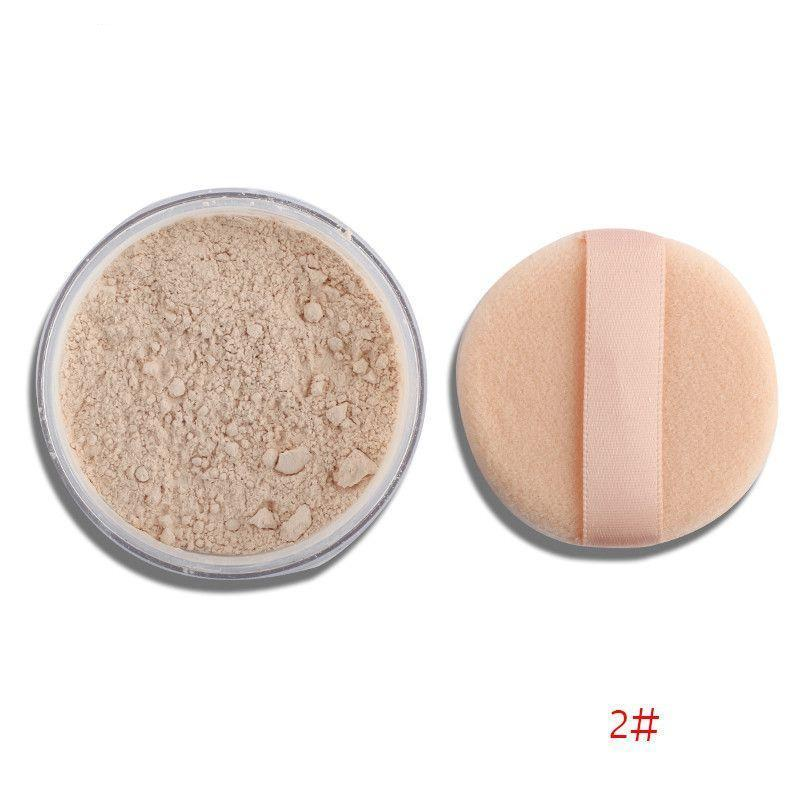 4 Colors Smooth Loose Powder Makeup with Puff-Make up-SheSimplyShops