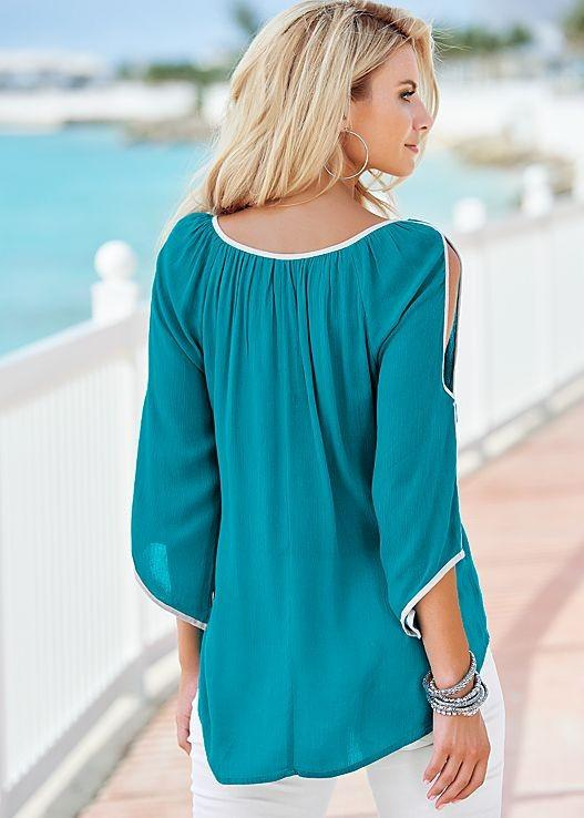 Casual Chiffon Blouse Tops-Blouse-SheSimplyShops