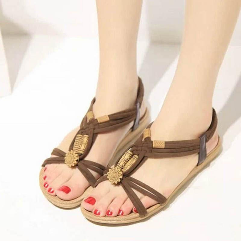 Women Shoes Sandals Comfort Sandals Summer Flip Flops Fashion High Quality Flat Sandals Gladiator Sandalias Mujer-SLIPS-SheSimplyShops
