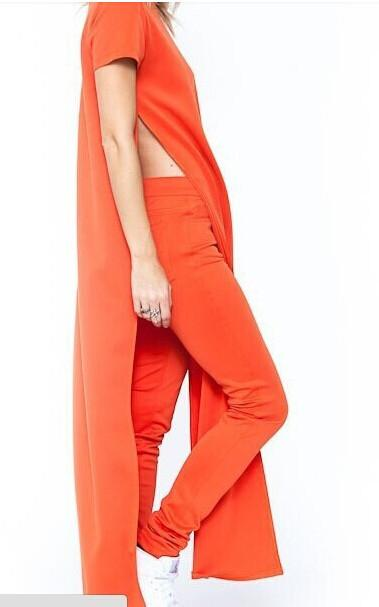 Side Slit Maxi Dress-Dress-SheSimplyShops