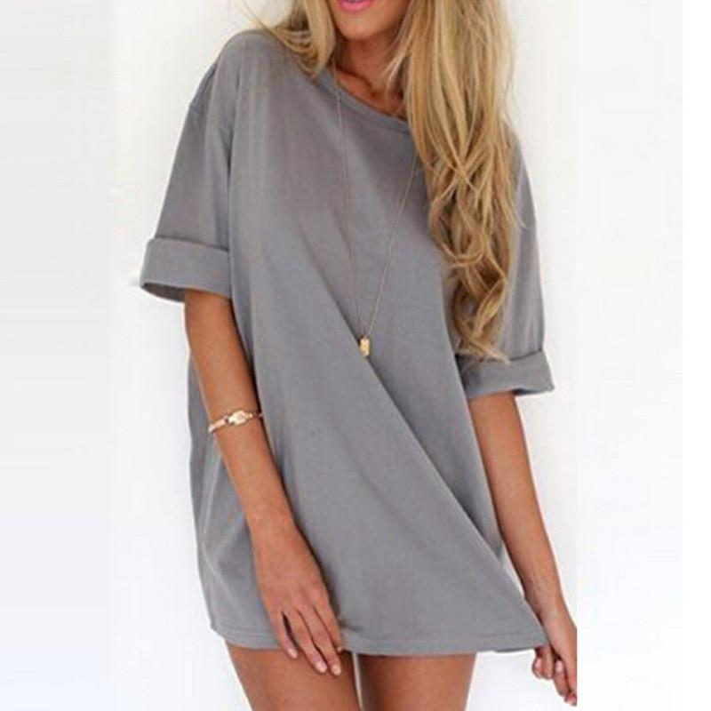 ZANZEA 2016 Summer Style Fashion Women Casual Loose Dress Sexy Ladies Short Sleeve Solid Color Mini Dresses Vestidos Plus Size-Dress-SheSimplyShops