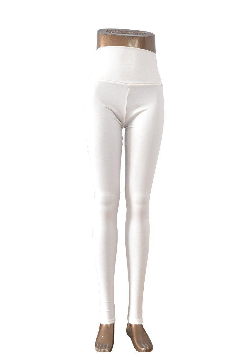 New Fashion women's Sexy Skinny Faux Leather High Waist Leggings-PANTS-SheSimplyShops
