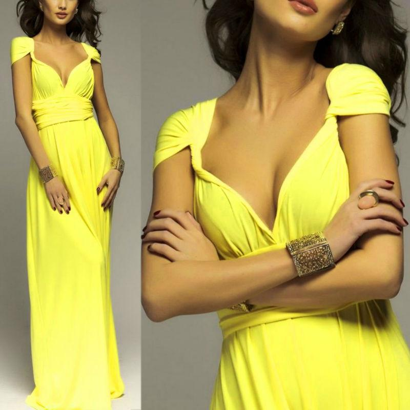 Sexy Bridesmaids Robe Long Dress-Dress-SheSimplyShops