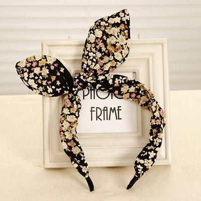 New Arrival Fashion Butterfly Bow Flower Hair Garland Lovely Rabbit Ear Headband for Headwear Women Hair Accessories-ACCESSORIES-SheSimplyShops