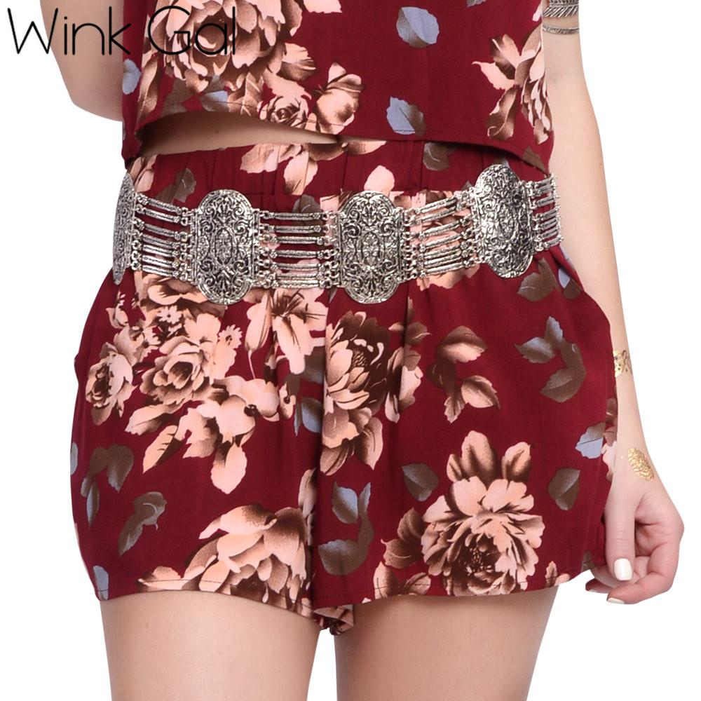 Two Piece Suit Crop Top And Shorts Set Casual Short Sleeve Beach Sets Women Summer Suits-Dress-SheSimplyShops