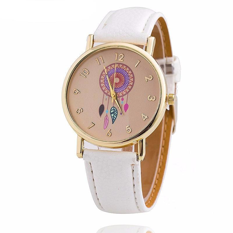 Vansvar Brand Women Fashion Dreamcatcher Watch Ladies Quarzt Watches relogio feminino 1635-WATCHES-SheSimplyShops