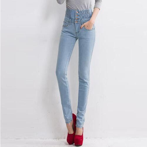 Charming Skinny Pencil Jeans-pants-SheSimplyShops