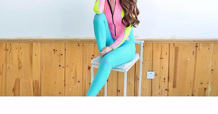 Elegant Candy Colors Bodysuit-SWIMWEAR-SheSimplyShops