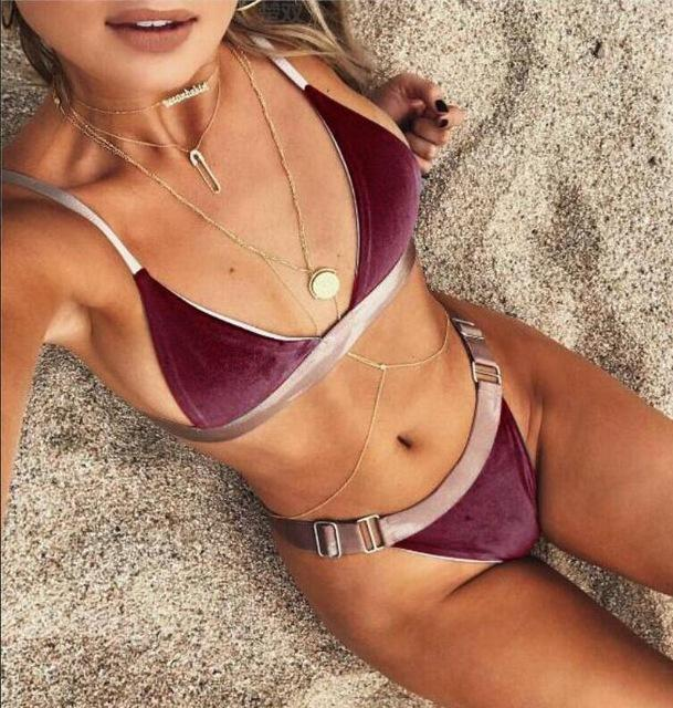 Sexy Bikinis Women Swimsuit Push Up Bikini Set Bathing Suits Bandeau Summer Beach Wear Swimwear Bikini-SWIMWEAR-SheSimplyShops