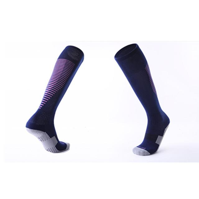 Sport Socks Compression Stockings Team Sports Gym Jogging Running Socks Cycling Thick Anti-slid Breathable Thermal Socks Soccer-ACTIVEWEAR-SheSimplyShops
