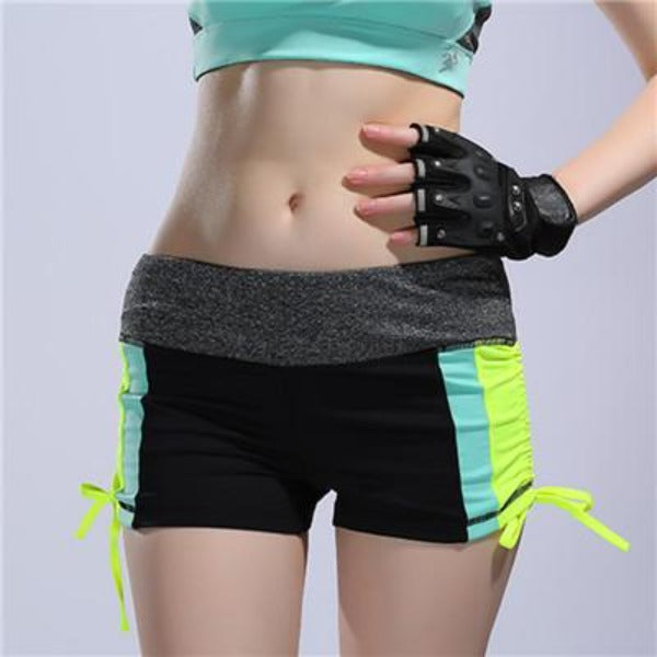 Breathable Sports Yoga Shorts Running Fitness Workout Quick Dry Gym Slim Women Running Short Drawstring Beach Hiking-ACTIVEWEAR-SheSimplyShops