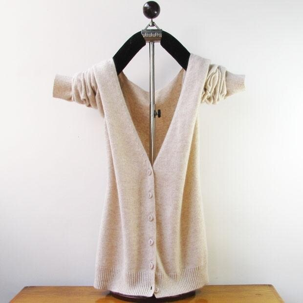 shipping Cashmere Cardigan V Neck Sweater Autumn And Winter Female Long Sleeve Wool Knitted S XXXL