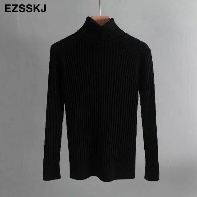 Autumn winter Women thick Sweater Pullovers long sleeve BASIC Turtleneck Sweater Female solid knit top soft warm JUNPER