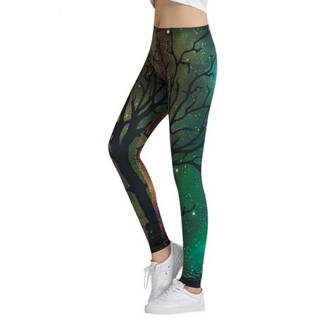 Women Yoga Pants High Elastic Fitness Quick Dry Sport Leggings Tights Printed Slim Bodybuilding Gym Female Trousers girls-SheSimplyShops